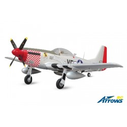 AS-AH004P Arrows RC - P-51 Mustang - 1100mm - PNP - w/ Electric Retracts