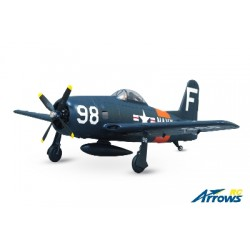 AS-AH005P Arrows RC - F8F Bearcat - 1100mm - PNP - w/ Electric Retracts