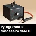 Pyrograveur et Accessoires de marque AMATI