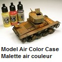 Model Air Color Case Malette air couleur