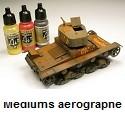 Airbrush Mediums Médiums aérographe