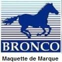 Maquette et Accessoire de Marque Bronco