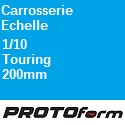 Carrosserie Echelle : 1:10 Touring 200mm ProtoForm