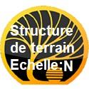 Structures de terrain échelle N
