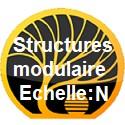 Structures modulaires échelle N