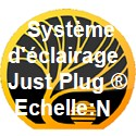 Système d'éclairage Just Plug ® échelle N
