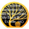 Système d'entretien des rails et des roues Tidy-Track ® échelle HO