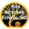 Kits de scène échelle HO