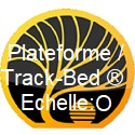 Plateforme / Track-Bed ™ échelle O