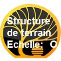 Structure de terrain échelle O
