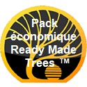 Pack économique Ready Made Trees ™
