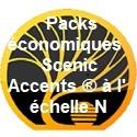 Packs économiques Scenic Accents ® à l' échelle N