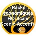 Packs économiques HO Scale Scenic Accents ®
