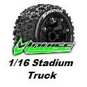Pneus LRC - 1/16 Stadium Truck