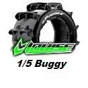 Pneus LRC – 1/5 Buggy