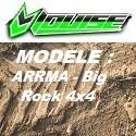 Modèle ARRMA - Big Rock 4x4