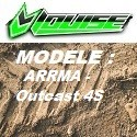 Modèle ARRMA - Outcast 4S