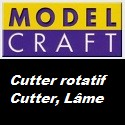 Cutter rotatif , Cutter et Lame de marque Model Craft