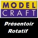 Présentoir Rotatif de marque Model Craft