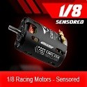 Moteurs 1/8 Racing Motors Sensored