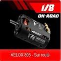 Moteurs VELOX 805 on-road