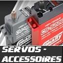 Servos et Accessoires TEAM CORALLY