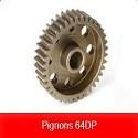 Pignons 64 DP TEAM CORALLY