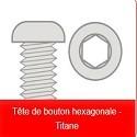Vis Titane Tête Bombée TEAM CORALLY