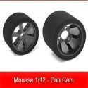 Pneus Mousse 1/12 - Pan Cars TEAM CORALLY
