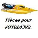 Pièces détachées pour JOY8203V2
