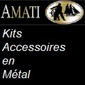 Kits et Accessoires en Métal de marque AMATI