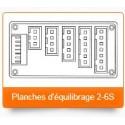 Carte d' équilibrage 2-6 S