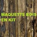 Maquette Bois en Kit